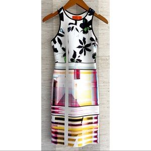 Clover Canyon Garden Plaid Racerback Dress